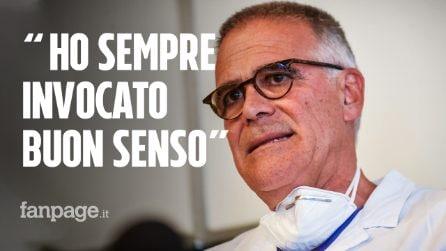 """Zangrillo: """"Virus clinicamente morto espressione stonata, io ho sempre invocato buon senso"""""""