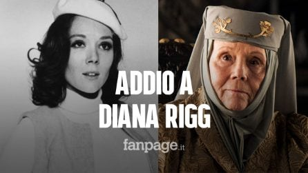 Morta Diana Rigg, addio alla Bond Girl moglie di 007 che recitò anche ne Il Trono di Spade