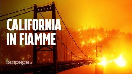 """Incendi in California, tre morti e 20mila evacuati: """"Il cielo è diventato rosso su San Francisco"""""""