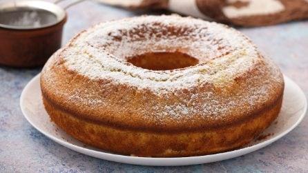 Ciambellone al kiwi: la torta soffice, alta e saporita che vi conquisterà al primo assaggio!