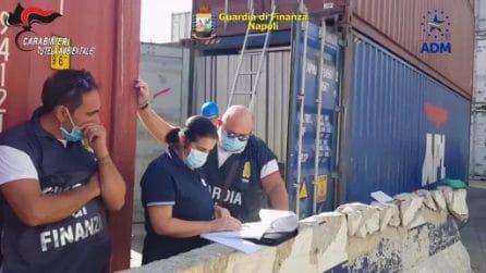 Napoli, 10mila pannelli fotovoltaici dismessi e pronti a raggiungere l'Africa sequestrati al Porto