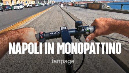 Napoli, tutti pazzi per il monopattino. Ma guidarlo non è cosi facile