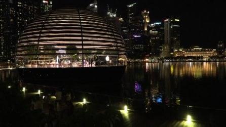 A Singapore apre il primo Apple store galleggiante