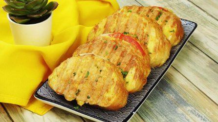 Toast all'uovo grigliati: l'idea facile e saporita per un pranzo veloce e sfizioso!