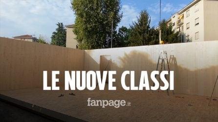 """Scuole a Milano, si lavora fino all'ultimo: """"Lunedì applaudiamo gli studenti che tornano in classe"""""""