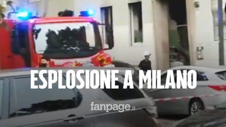 Milano, esplosione in palazzo in piazzale Libia: 8 feriti di cui uno grave