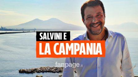 """Salvini contro De Luca: """"Non tutti sono a disposizione del signorotto"""""""