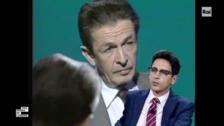 """Una pezza di Lundini, Valerio Lundini """"intervista"""" Enrico Berlinguer"""