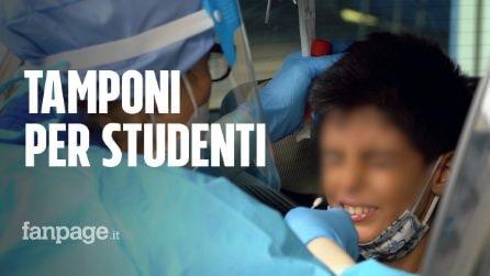 Tamponi veloci per studenti e docenti, presidi presi d'assalto al San Carlo di Milano