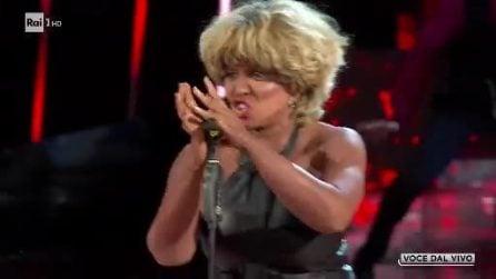 Barbara Cola vince Tale e Quale Show imitando Tina Turner: l'esibizione