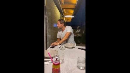 "Ilary Blasi sorprende Francesco Totti: ""C'è una donna incinta in casa"""