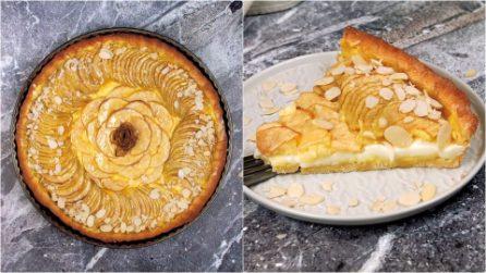 Crostata cremosa alle mele: la ricetta bella e golosa da provare subito!