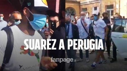 Luis Suarez a Perugia per il passaporto: ha superato l'esame di italiano