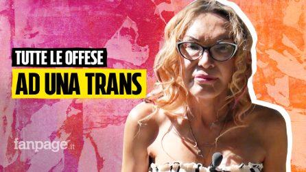 """Elena Sofia legge le offese: """"Trans schifosa, mostro, se rimanevi uomo non era meglio?"""""""