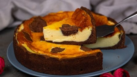 Chocolate cheese pie: a creamy dessert, perfect for any occasion!