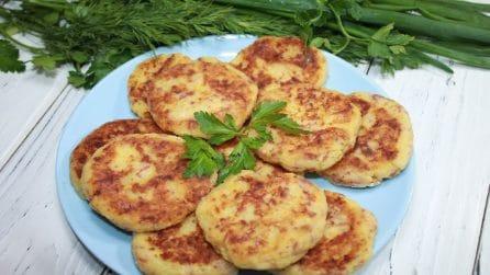 Frittelle di patate: la ricetta semplice che si prepara in pochi minuti
