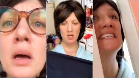 I mille volti di una mamma: Michaela, l'attrice che conquista TikTok con le sue parodie esilaranti
