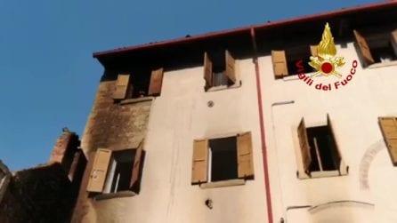 Esplosione in appartamento Verona, evacuato intero stabile
