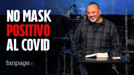 USA, pastore negazionista e no mask positivo al Coronavirus: finisce in terapia intensiva