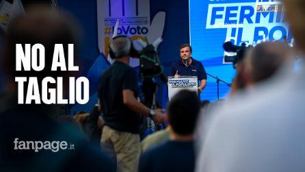 """Referendum, a Milano il raduno contro il taglio: """"Diciamo no agli slogan di Lega e M5S"""""""