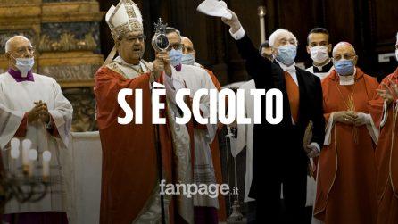 Il miracolo di San Gennaro si è ripetuto: si è sciolto il sangue senza coaguli