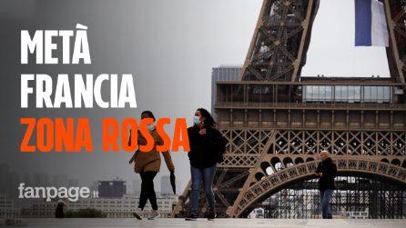"""Coronavirus in Francia, in 24 ore oltre 10mila contagi: più della metà del Paese è """"zona rossa"""""""