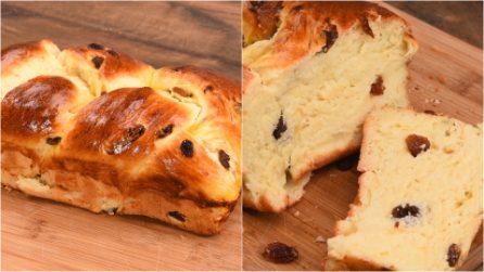 Raisin Brioche Bread