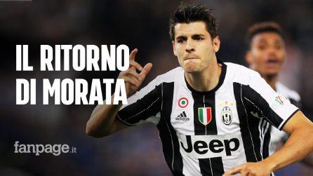 Alvaro Morata alla Juventus, accordo con l'Atletico Madrid: cifre e costo dell'operazione