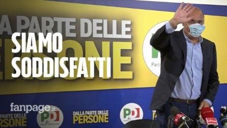 """Elezioni regionali, Zingaretti: """"Soddisfatti dei risultati, ma con M5s avremmo vinto ovunque"""""""