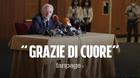 """De Luca ha vinto le elezioni in Campania: """"È stata una vittoria di popolo, votato anche da destra"""""""