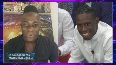 """Mario Balotelli al GF Vip per il fratello Enock: """"Fingi di avere paura di me"""""""