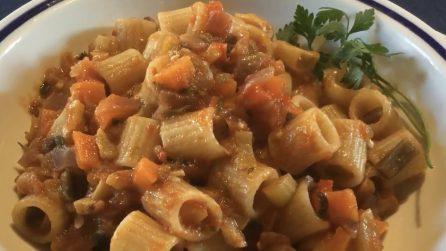Tubettoni con ragù di verdure: la ricetta del primo piatto davvero saporito