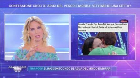 """Barbara d'Urso sul racconto choc di Adua e Morra: """"Una persona mi ha raccontato la stessa cosa"""""""