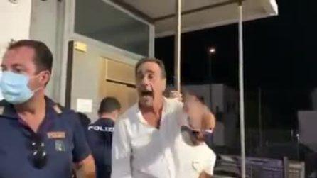 Elezioni Comunali a Lacco Ameno, urla e proteste del candidato sindaco perdente