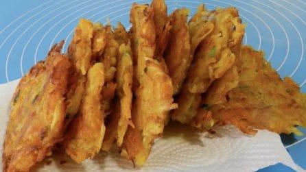 Frittelle di patate e zucca: la ricetta semplice e saporita