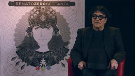 """Renato Zero presenta """"ZeroSettanta"""": """"Più sono stato ferito, più le mie ali sono diventate grandi"""""""