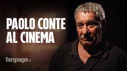 """Paolo Conte al cinema con Via con me: """"Mai voluto andare a Sanremo, odio la competizione"""""""