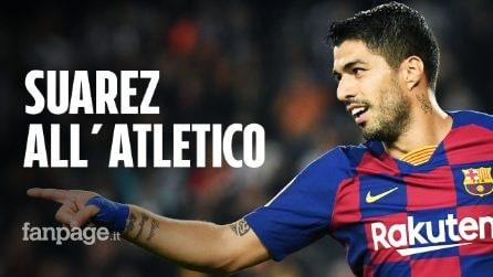 Luis Suarez all'Atletico Madrid, è ufficiale: le cifre del trasferimento dal Barcellona