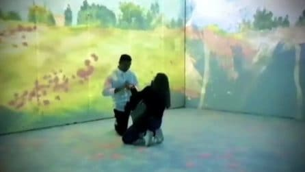 Proposta di matrimonio alla mostra di Claude Monet a Milano