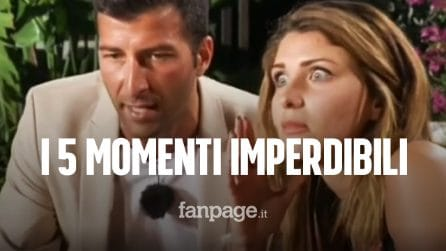 I cinque momenti imperdibili della seconda puntata di Temptation Island 2020