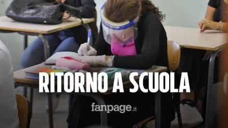 Covid, riaprono le scuole a Napoli, gli studenti: Gli spazi sono un problema, ma non vedevamo l'ora