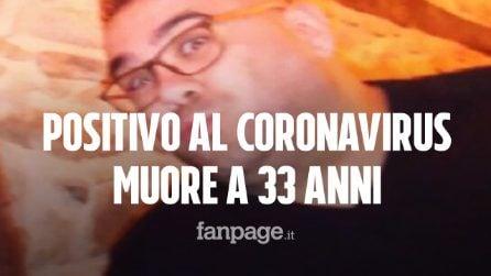 Positivo al Coronavirus, muore a 33 anni: Fabio è tra le vittime più giovani del Covid-19