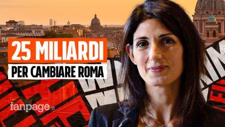 """Virginia Raggi a Fanpage: """"Trasporti, casa, green: con i soldi del Recovery Fund cambiamo Roma"""""""