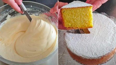 Torta margherita: la ricetta del dessert alto, soffice e goloso