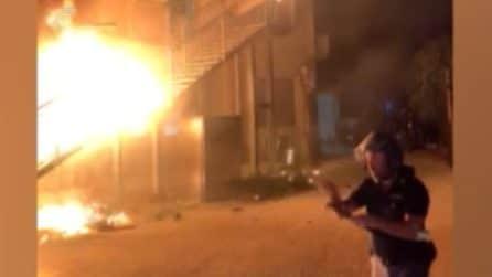 Agrigento, rivolta in centro migranti: feriti 3 poliziotti