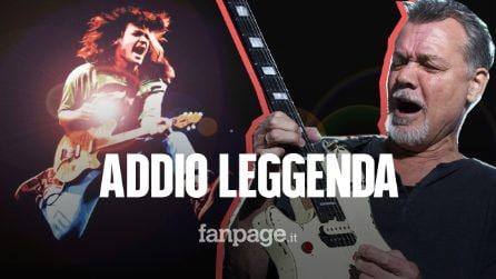 Morto Eddie Van Halen: il leggendario chitarrista rock si è spento a 65 anni