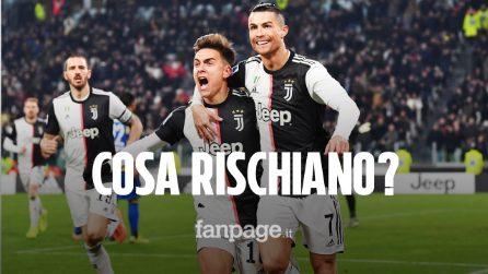 Cosa rischiano i giocatori della Juventus per aver violato l'isolamento: tutti i dettagli
