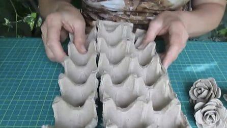 Come riutilizzare i cartoni delle uova