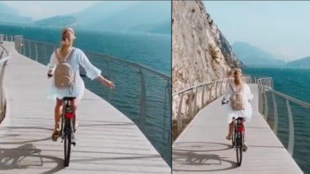 La pista ciclabile del lago di Garda è tra le più belle del mondo