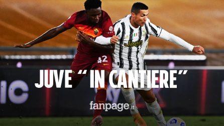 Roma - Juventus 2-2: Ronaldo salva i bianconeri, Dzeko scheggia il palo